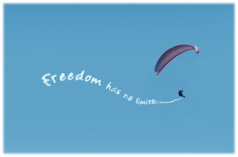 La liberté n'a pas de limites...