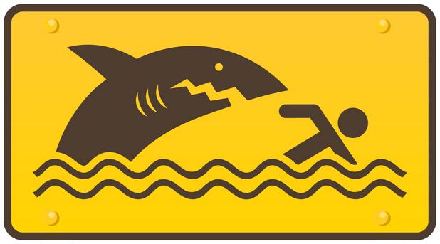 Même non déguisé en dauphin, le requin est dangereux