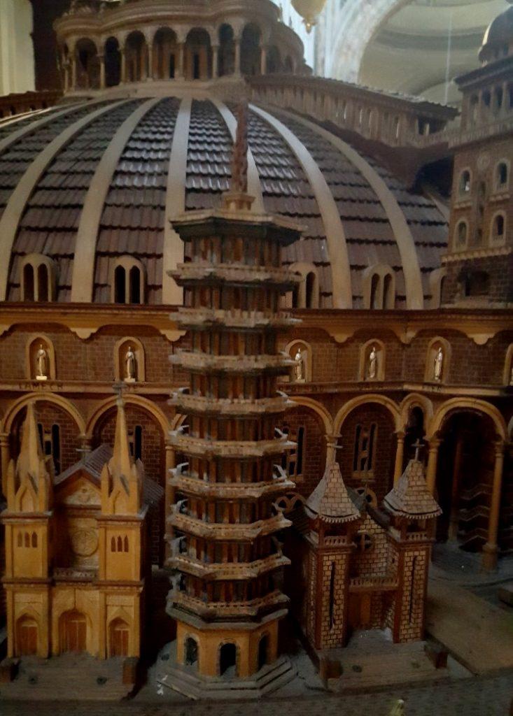 Temple du Christ Roi par Vincenzo Pandolfi (détail).