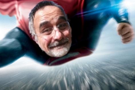 Le jour où Bernard Lamailloux s'est déguisé en Superman