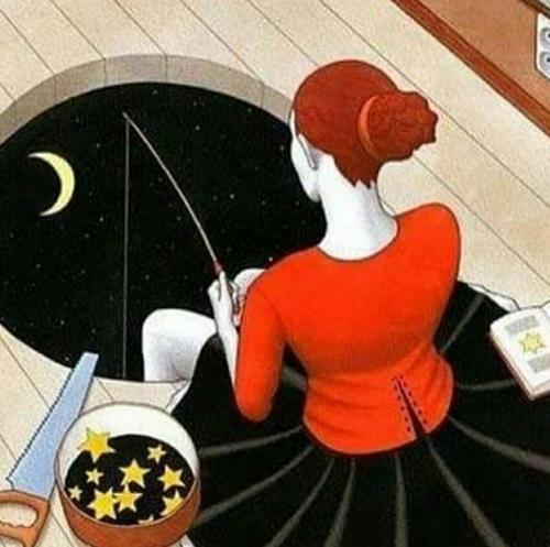 Pêche aux étoiles