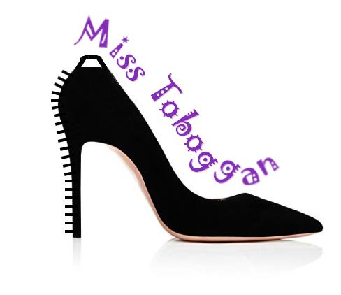 """Illustration pour la chanson """"Miss Toboggan"""""""