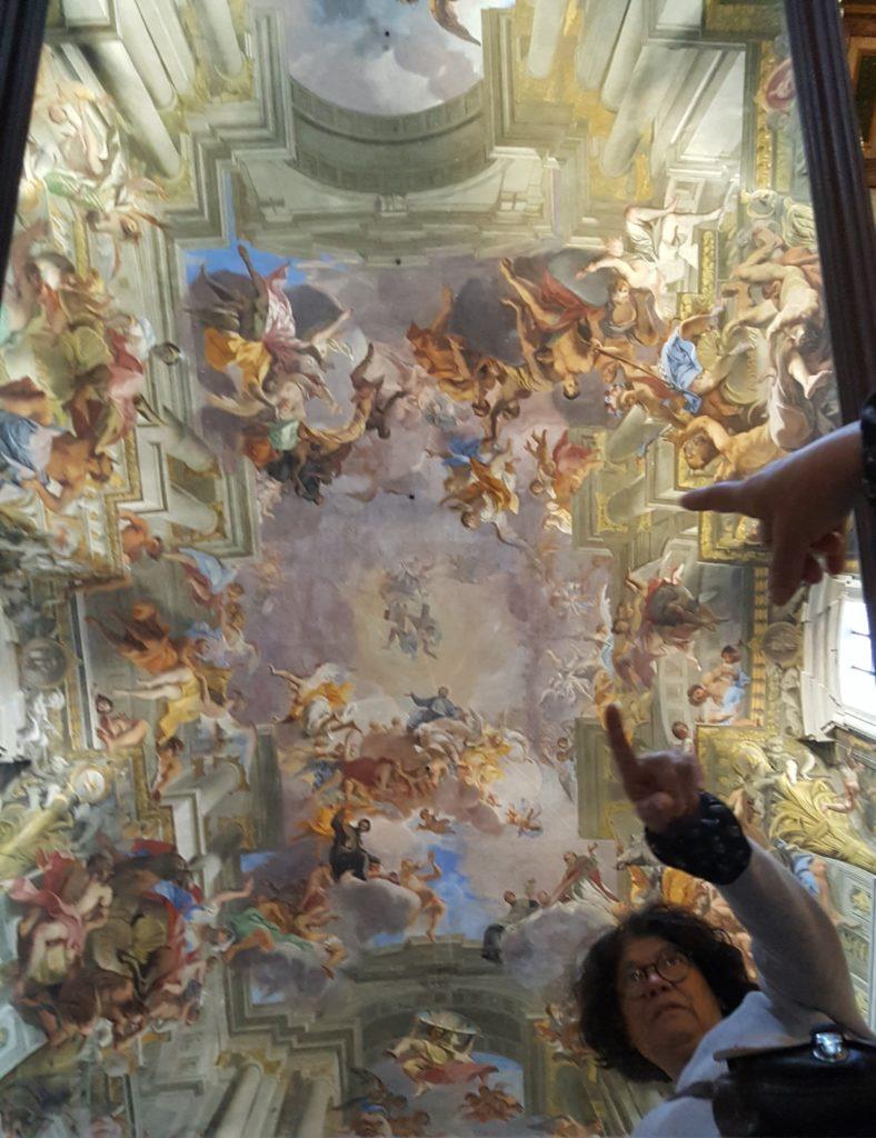 Église Saint Ignace de Loyola (Rome) - Fresque en trompe-l'œil d'Andrea Pozzo